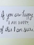 happy, too - 8x10 Print