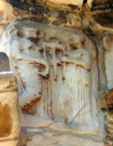 Γλυπτά ανατολικής πλευράς Γοργοεπηκόου