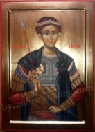 Saint Demetrios, byzantine icons for sale