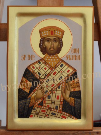 Saint Constantine the Great, byzantine icons for sale