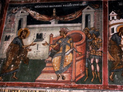 Mural painting from the Cozia Monastery (18)