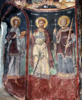 Mural painting from the Cozia Monastery (37)