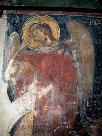Mural painting from the Cozia Monastery (6)