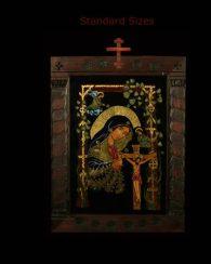 R.C. Focseneanu Reversed Glass Icons