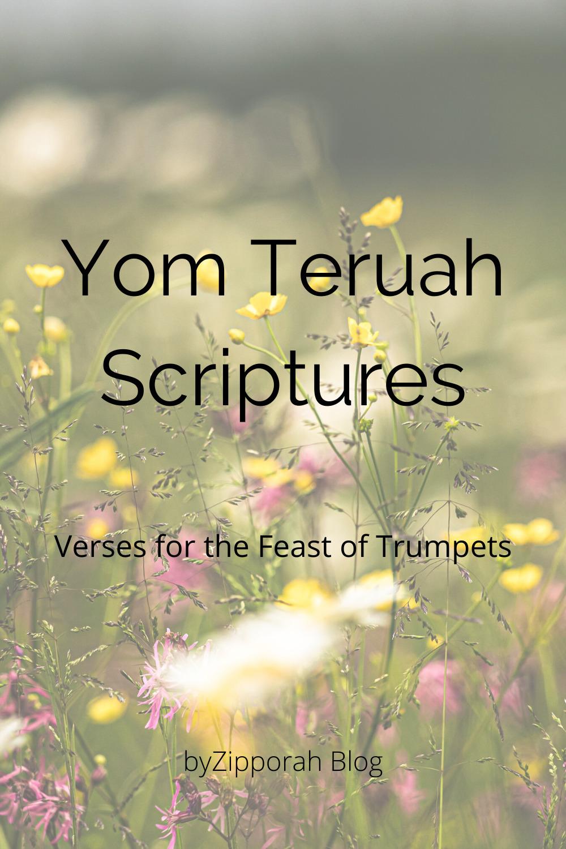 Scripture Reading for Yom Teruah