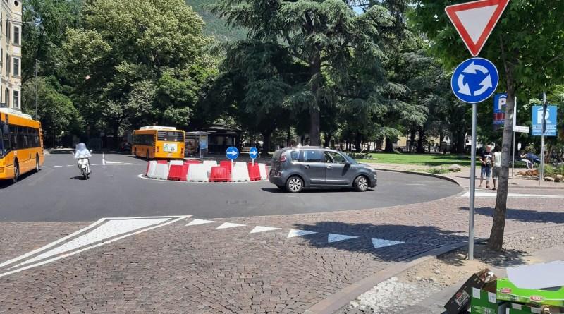 Bolzano, chiuso un tratto di viale Stazione per i lavori del nuovo tunnel