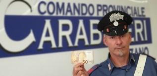 Banconote false Bressanone
