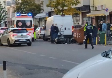 Bolzano, incidente in via Resia: ferita una persona