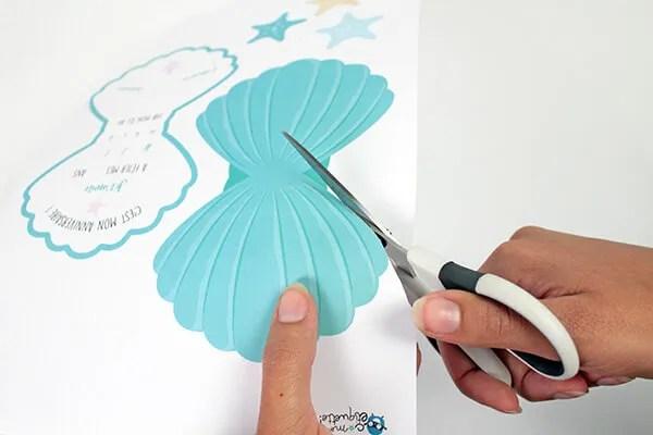 atelier invitation coquillage a
