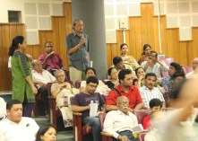 Queries from the audience after past screening at Guwahati