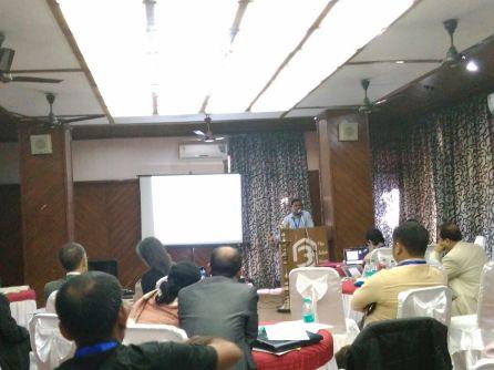 Manik Ch. Boruah making his presentation