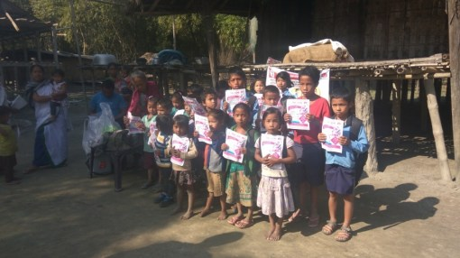 Mission Tejaswee at Jorhat. 223 children were given IFA Syrup