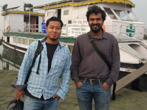 A documentary team from Selco Foundation at the Jorhat Boat Clinic on 18th March 2018. The link to the documentary follows: https//youtu.be/JWv9-K3LMQ