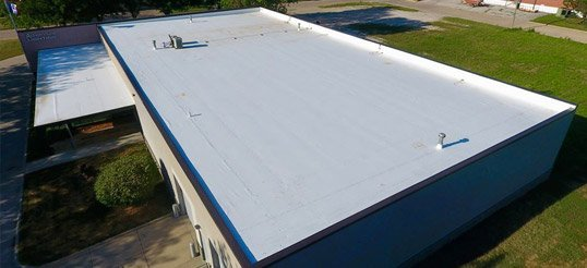 Thermoplastic Polyolefin (TPO) roofs