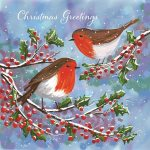 Robins on Holly website