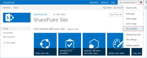 sub-site in SharePoint 2013