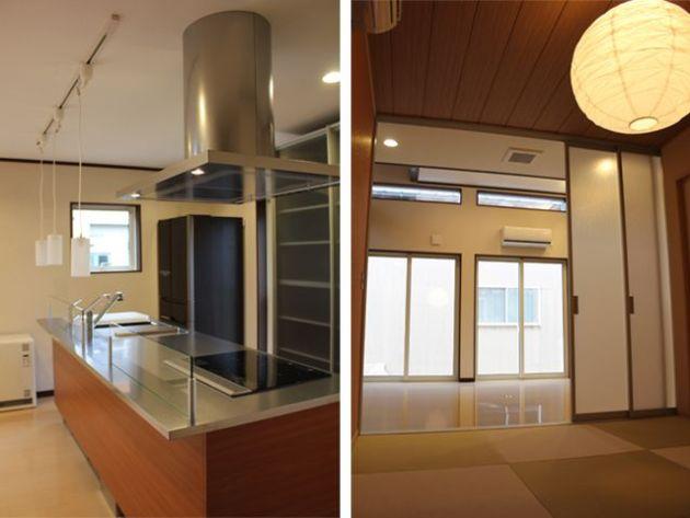 アイランドキッチン・和室