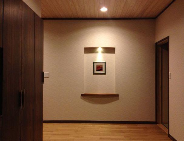 玄関飾り棚