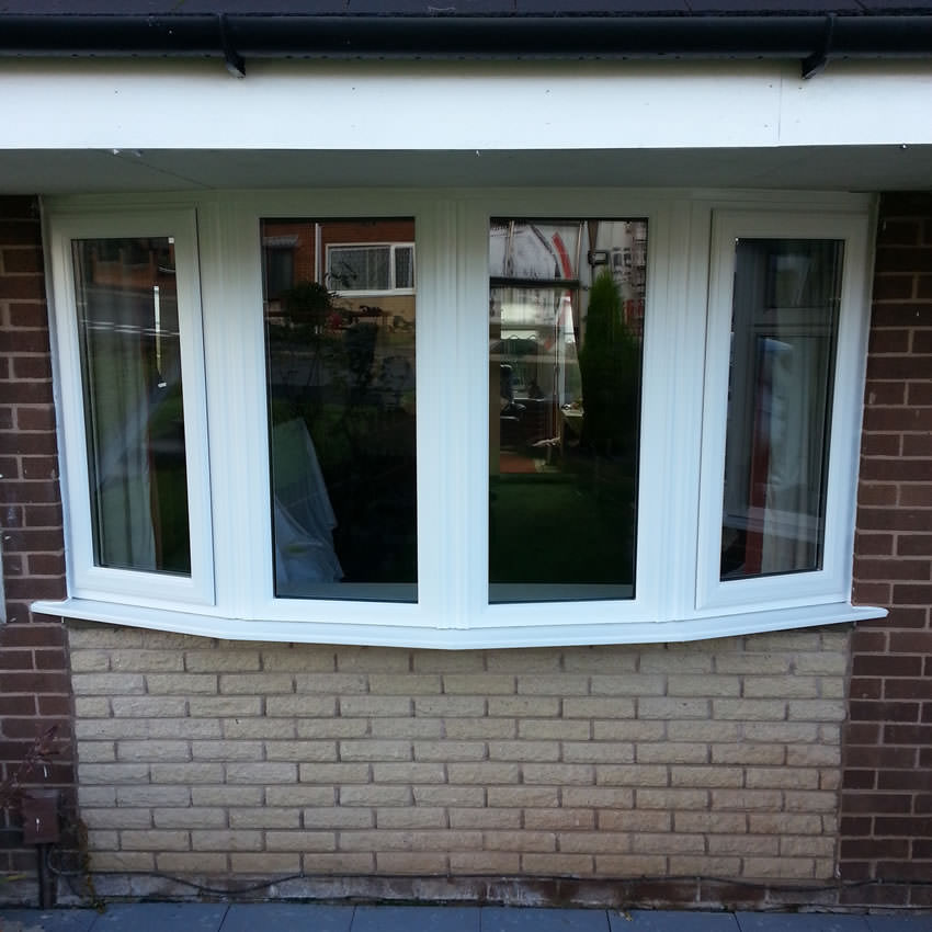 Replacement bay window for House door window replacement