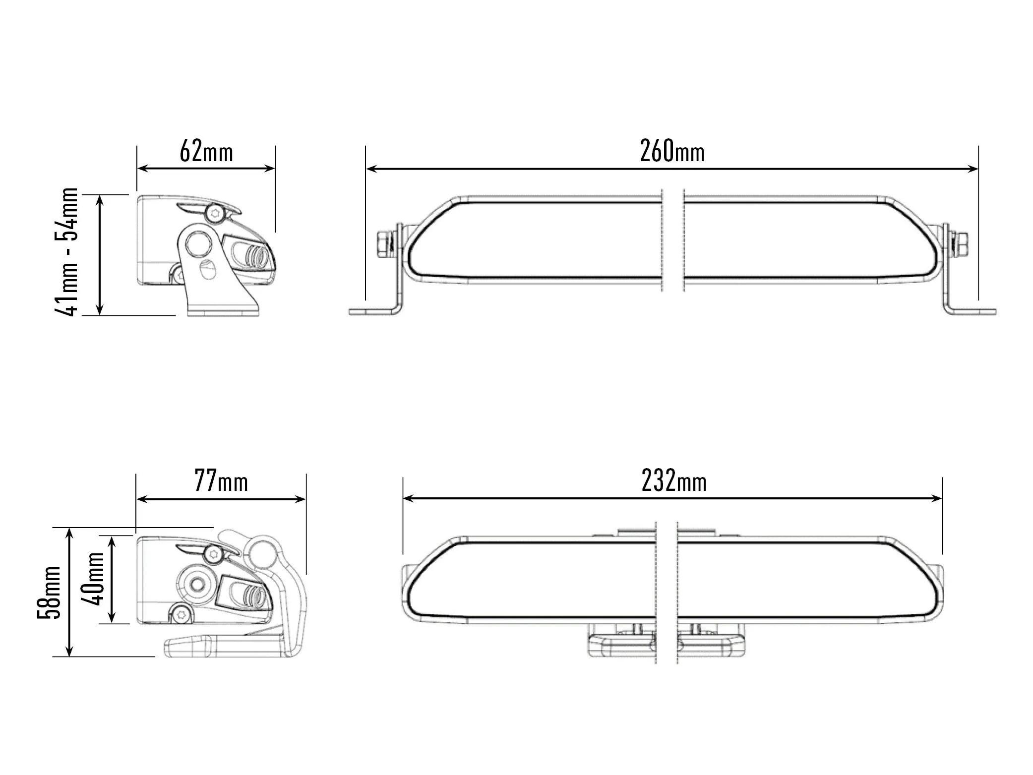 Lazer Lamps Linear 6