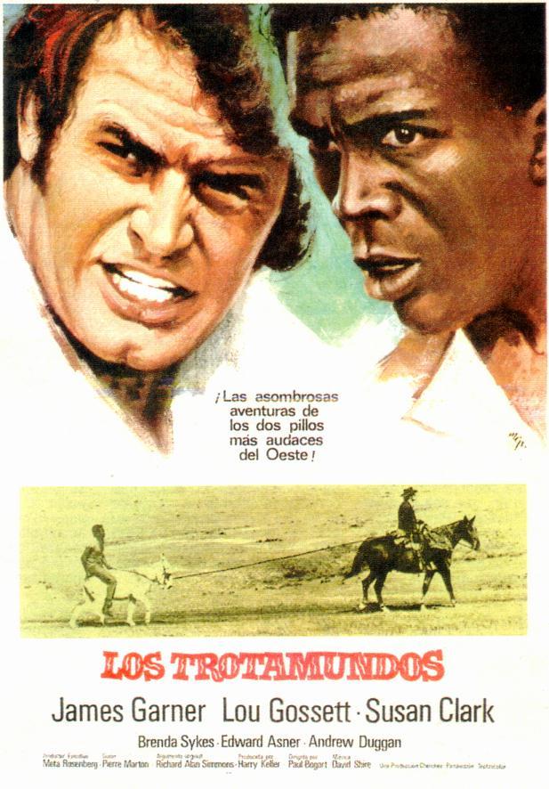 Una Pagina De Cine 1971 Skin Game Los Trotamundos Esp