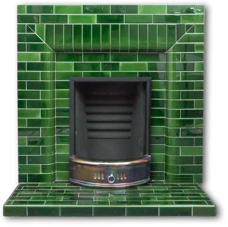 twentieth century fireplaces