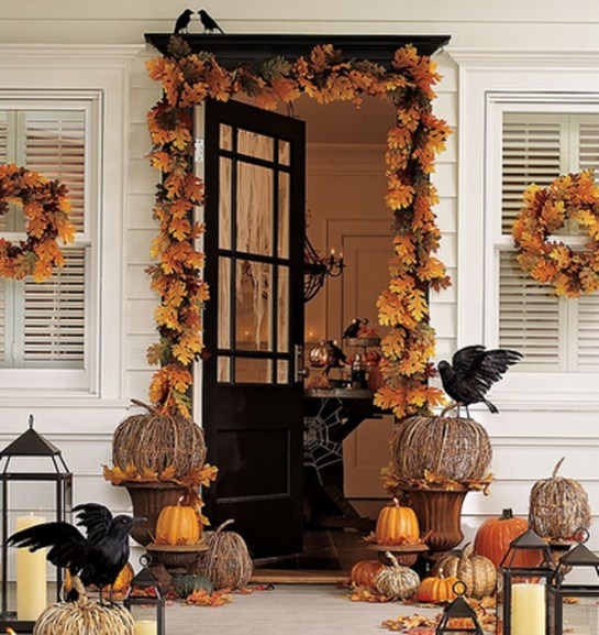 fall door decor 2