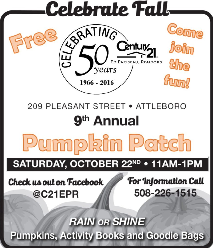 Come join the fun and celebrate Fall with us!