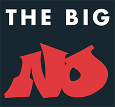 The Big No logo