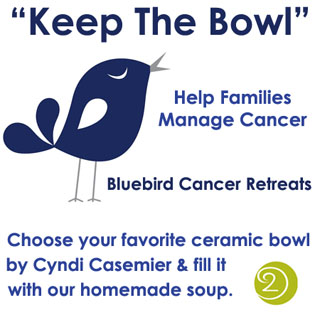 bluebird cancer retreat fundraiser