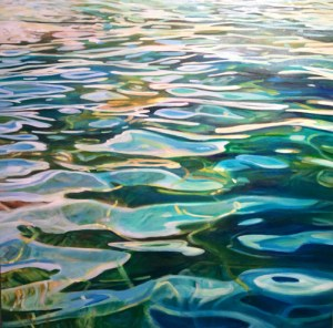 Michelle Courier water painting