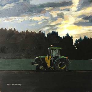 John Deere Morning by Mark Mehaffey