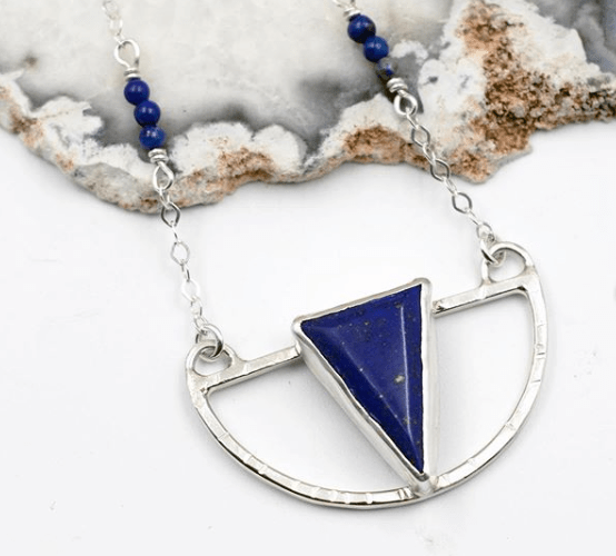 Sterling Silver necklace by Lisa Lehmann