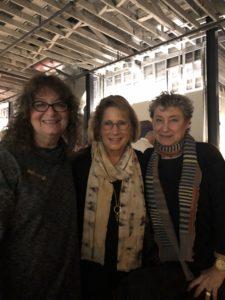 Meeting friends at NCECA, Minneapolis, man