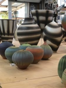 Nicholas Barnard ceramic vessels