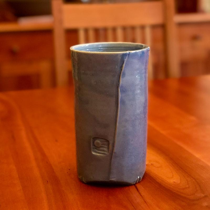 Blue Vase by Cyndi Casemier