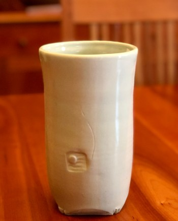 Celadon Vase by Cyndi Casemier