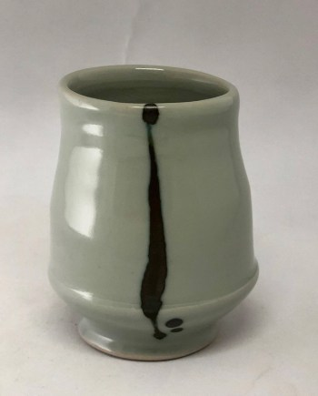 tall porcelain cup by Julie Devers