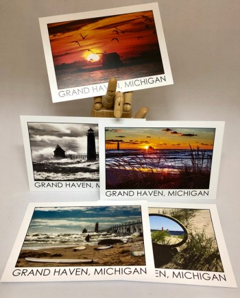 Grand Haven Postcards by Bob Walma