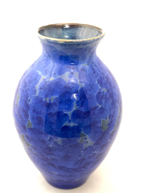 Dk Cobalt Vase by Brooks