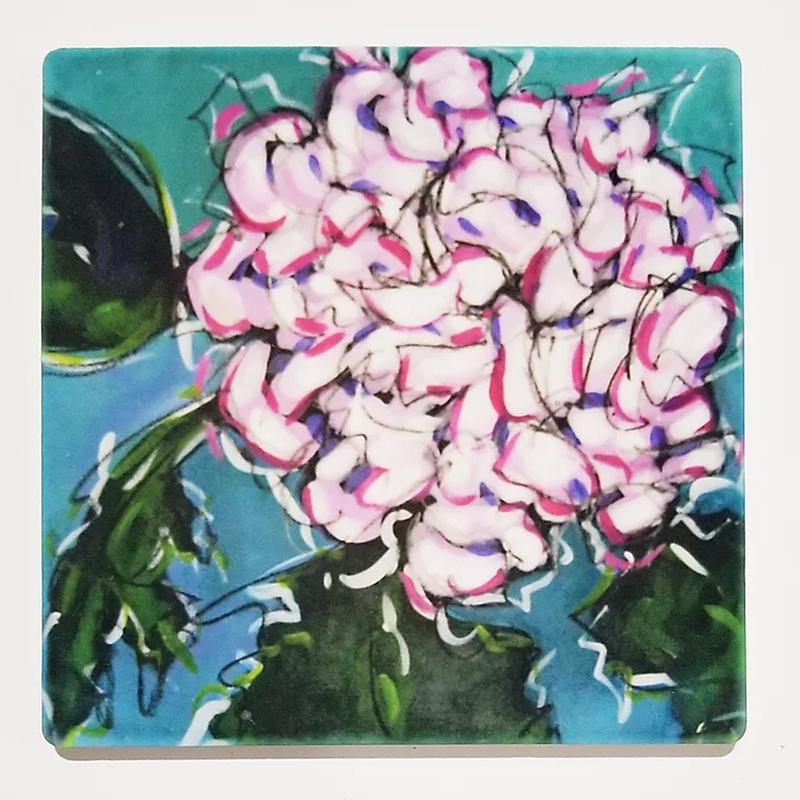 Chrysanthemum IV Coaster by Christi Dreese