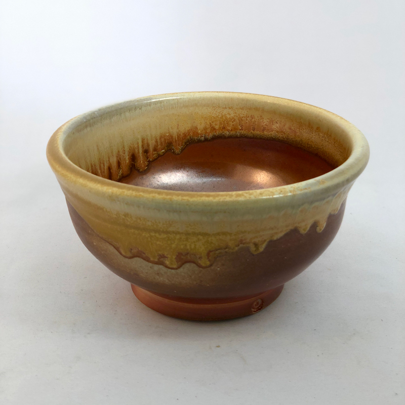 alternate view of wood fired bowl