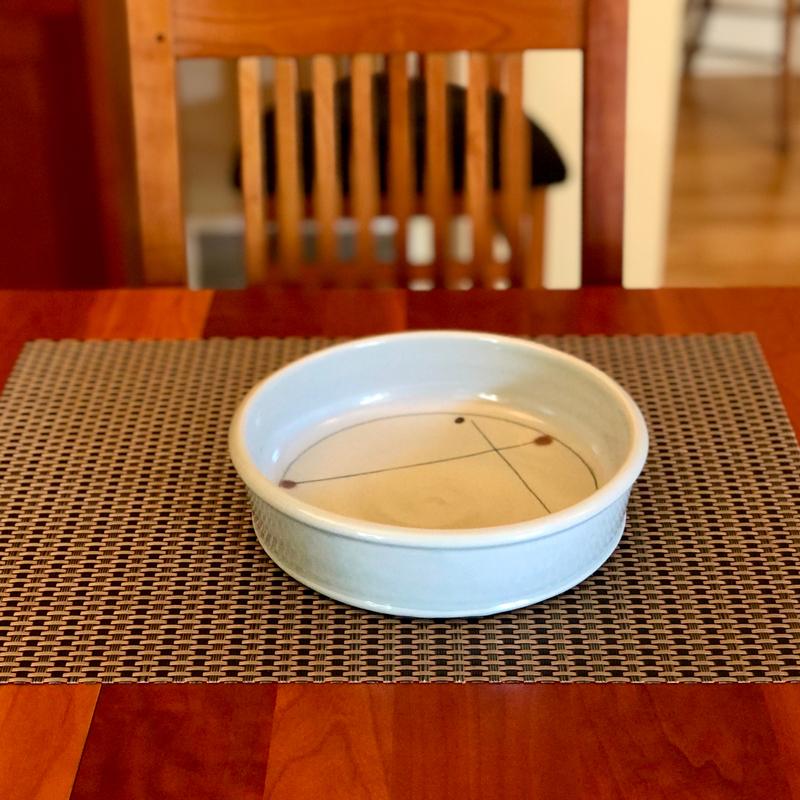 Porcelain Bake Dish by Julie Devers