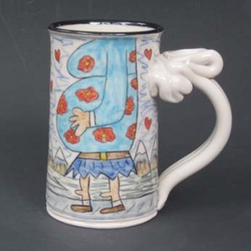 Big Foot's Love Child Mug by Tom Edwards