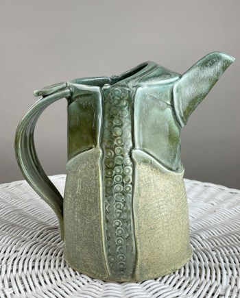 porcelain pitcher by marion angelica