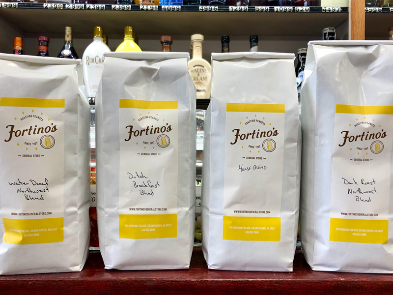 fortino's grand haven coffee whole bean