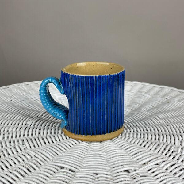 handmade paperclay mug by Cory McCrory