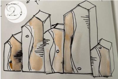 C2C ceramics sketching