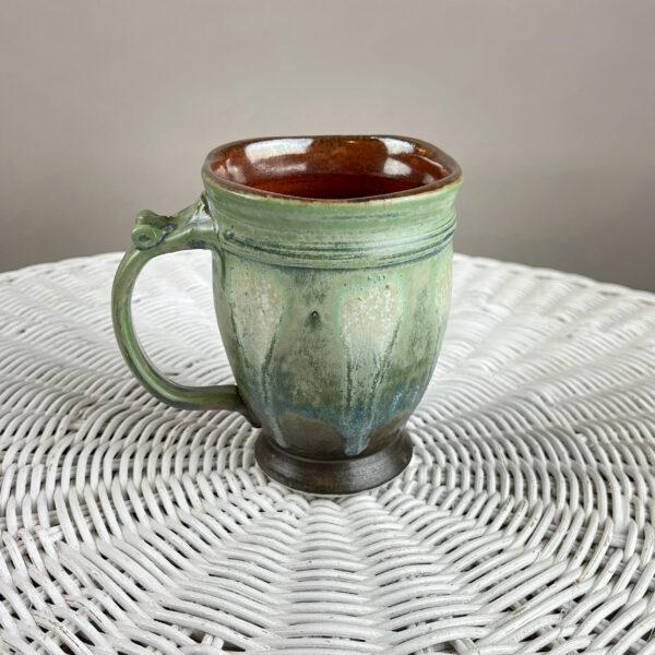 handmade pottery mug