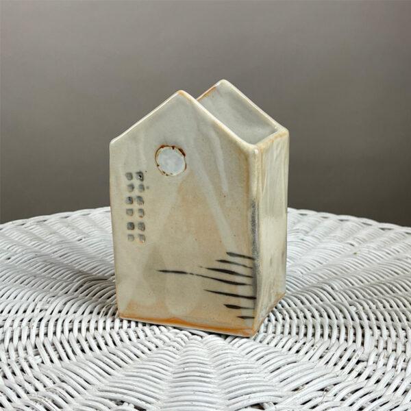 Handmade House Vase I by Cyndi Casemier